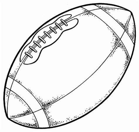 free printable football templates free printable football coloring pages for best