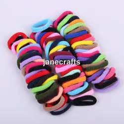 baby hair ties 96pcs 8mm mix colors baby children elastic hair ties bands rope ponytail holders