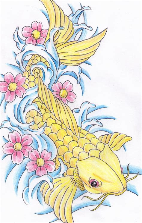 Drawing Koi Fish by Koi Fish By Patrickguitarist On Deviantart
