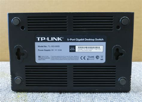 Tp Link Tl Sg1005d 5 Port Gigabit Desktop Switch tp link tl sg1005d 5 port gigabit unmanaged desktop switch white