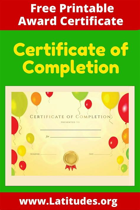 certificates awards printable certificates for page 1