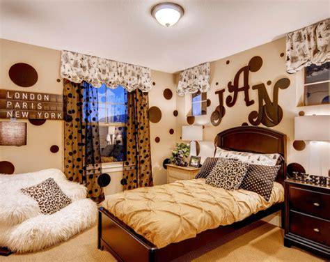 desain dinding kamar anak remaja desain kamar tidur anak remaja bernuansa warna coklat