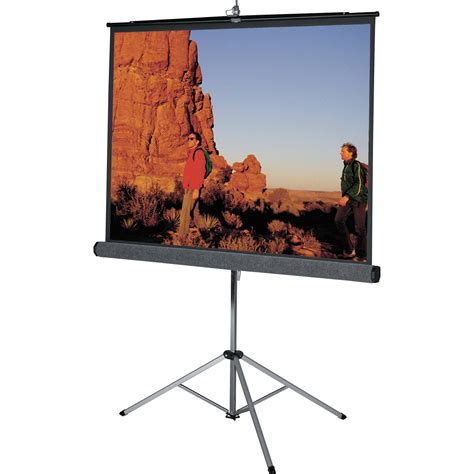 da lite 69905 picture king tripod front projection screen