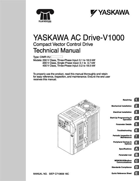 yaskawa a1000 wiring diagram wiring diagram with description