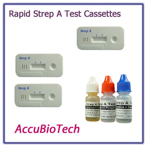 at home strep test strep a test kit 25 tests kit urgent