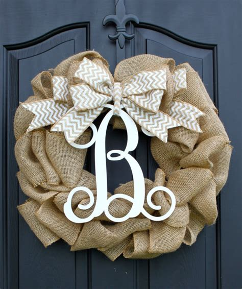 Spring Wreath Burlap Wreath Etsy Wreath By Oursentiments Front Door Wreaths Etsy