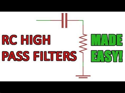 high pass filter basics lowpass lc filters doovi