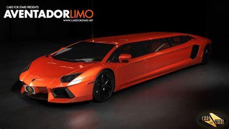 What Does A Lamborghini Lamborghini Aventador Turned Into A Limousine