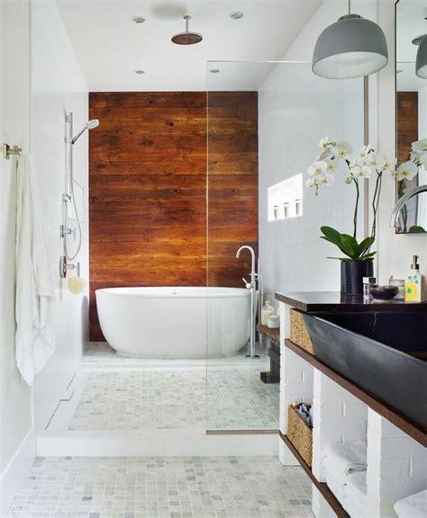 badezimmer gestaltungsideen bad wandverkleidung mit holz warum denn nicht