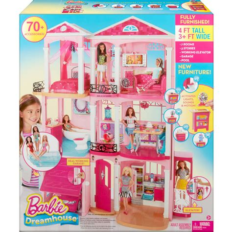 barbie dream house dolls house playset barbie 174 dreamhouse 174 doll house