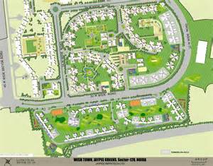 Layout Plan Jaypee Kosmos Om Radianz Infra Pvt Ltd Noida