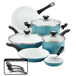 cookware for ceramic cooktop farberware purecook ceramic nonstick cookware 12