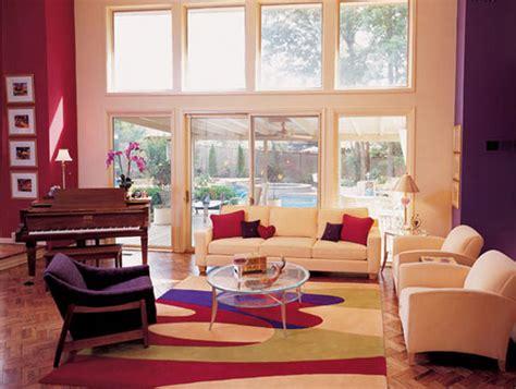 Living Room Purple Colour Schemes Living Room Color In Purple Home Design Inside