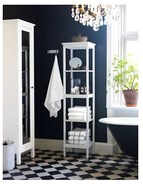 Shelving Ideas For Bathrooms Decorar El Ba 241 O Con La Serie Hemnes De Ikea