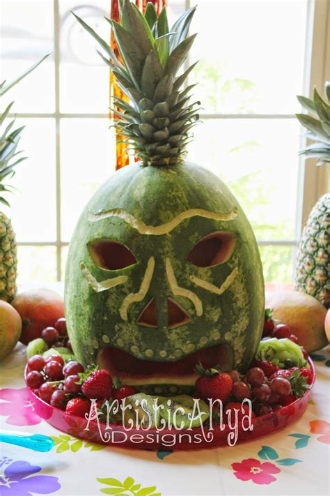 Watermelon Decorations by Carved Watermelon Ideas The Idea Room