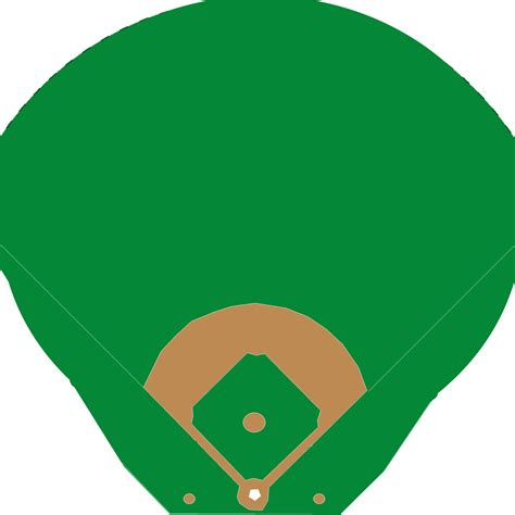 baseball field diagram clipart best