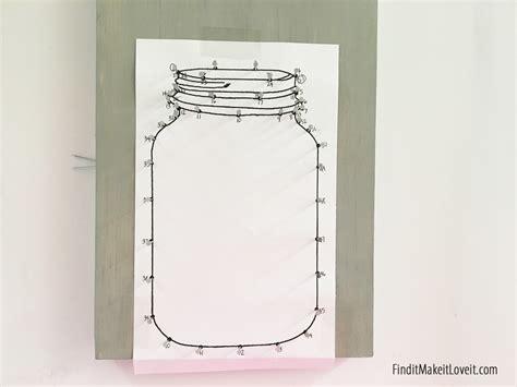 mason jar string art find it make it love it