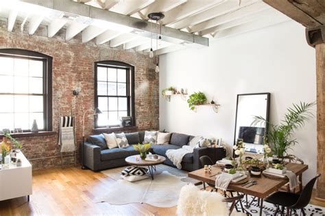 big w home decor a young couple s industrial brooklyn home homepolish