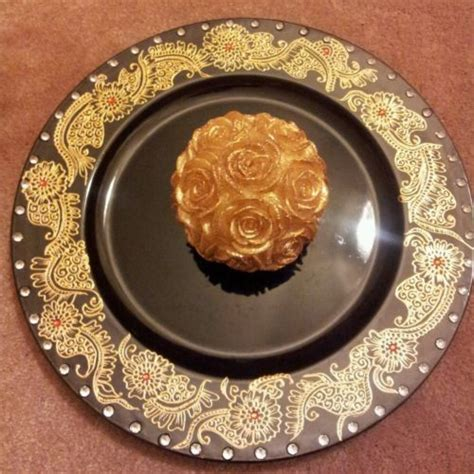 henna design plate charger plates with henna design home ideas pinterest