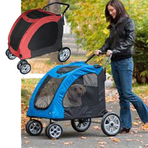 strollers for large dogs pet gear expedition big xl stroller capacity 150 lbs new ebay