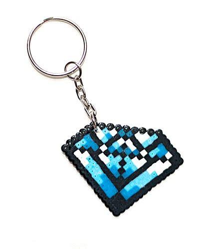 keychain made hama mini 7 50 via etsy