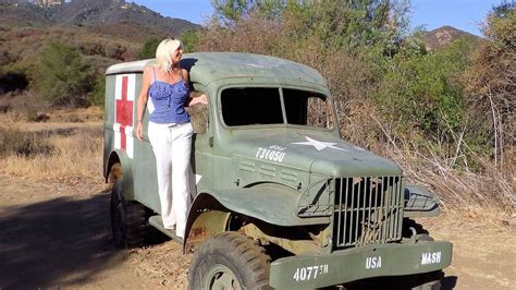 mash jeep m a s h getting to the mash 4077 film set location in