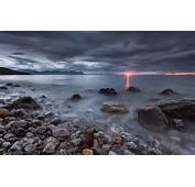Papel De Parede Zach Mar Noruega Paisagem As Ilhas Lofoten
