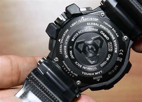 Casio Gshock Gwp casio gravity master gpw 1000t 1a titanium indowatch