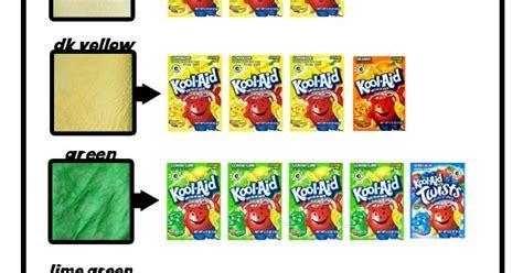 kool aid color chart me kool aid hair dye