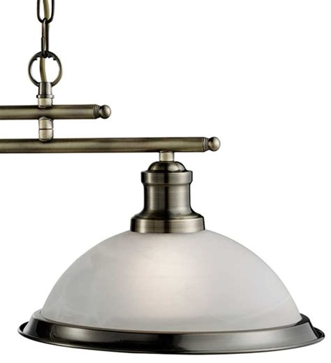 Antique Kitchen Lighting Bistro Retro Antique Brass 2 L Kitchen Pendant Light Bar 2682 2ab