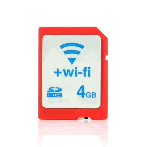 Memory Card Wifi Wholesale 4 Gb Wifi Sd Card Wireless Sdhc Card From China