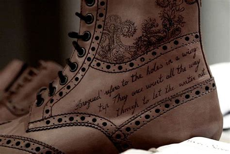 hipster tattooed leather footwear tattoo shoes