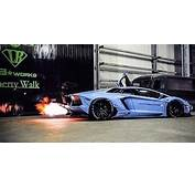 Liberty Walk's Lamborghini Aventador Unveiled  Modified