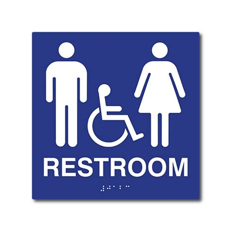 handicap bathroom signs ada bathroom signs ada restroom signs stopsignsandmore