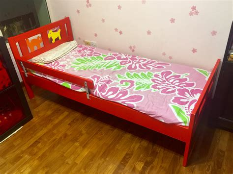 ikea red and white bedding ikea kritter toddler bed singaporemotherhood forum