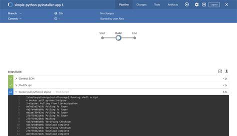 docker tutorial python build a python app with pyinstaller