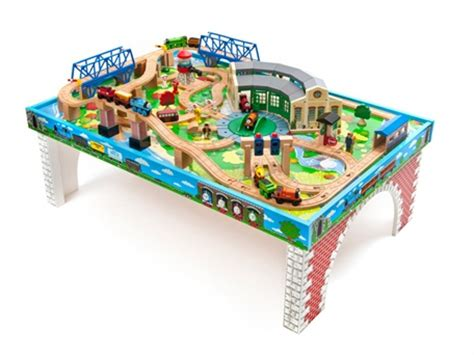 friends wooden railway tidmouth sheds table