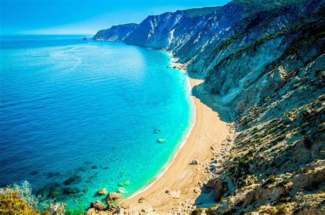 best beaches greece four secluded island beaches guest the