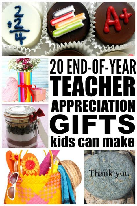 20 diy teacher appreciation gifts kids can make