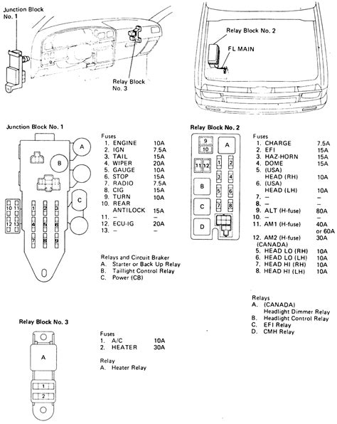 1991 toyota wiring diagram 1991 toyota blower wiring diagram 40 wiring