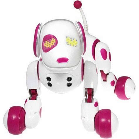 zoomer dogs pink zoomer robot interactive dogs puppy kid electronic robo pet barks talks