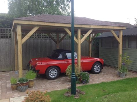 carport gazebo grande open wooden gazebo 2 9x4 9m