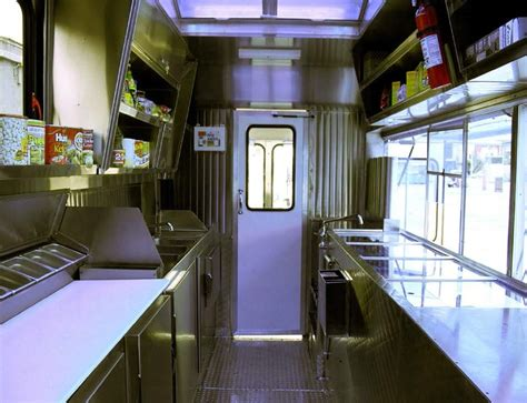 interior design food trucks 22ft mobile food truck