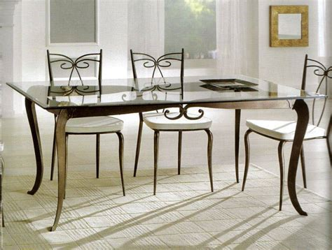 glass top dining room tables diningroomstyle modern