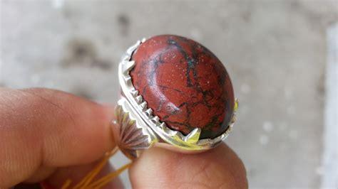 Besi Dan Batu permata murah sokmo cincin permata badar besi merah asli