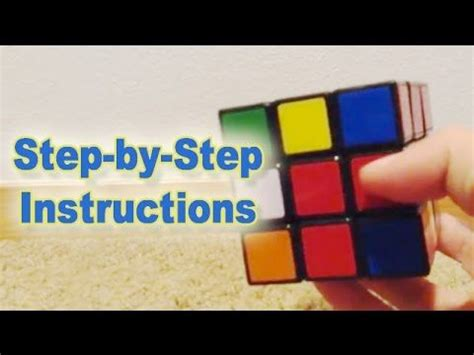 tutorial rubik cube 3x3 15 best how to solve the rubiks cube images on pinterest
