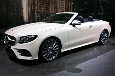 new 2017 mercedes e class cabriolet: prices and specs