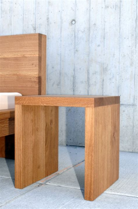 Massivholz Nachttisch Eiche by Gartentisch Holz Massiv Quadratisch Rechteckig G 252 Nstig
