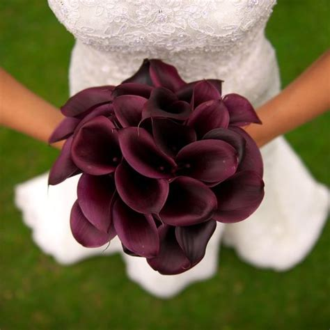 Wedding Bouquets Using Calla Lilies by Burgundy Cali Wedding Bouquet For The Wedding