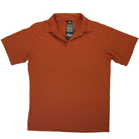 rust colored shirt t11s polo shirt hotel reception staff smart clothing